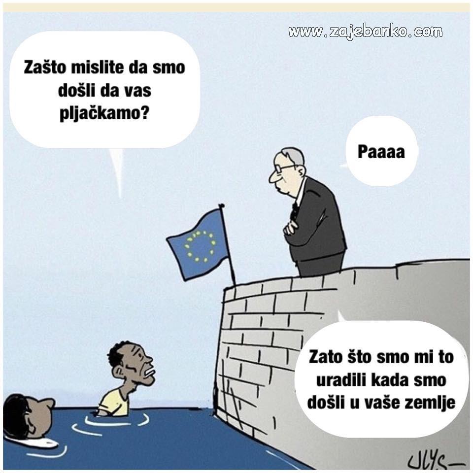 Politika smiješne slike - Pljačka