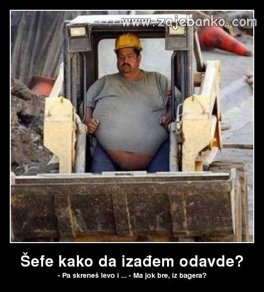 Smiješni Bosanci - Bosanac na baušteli