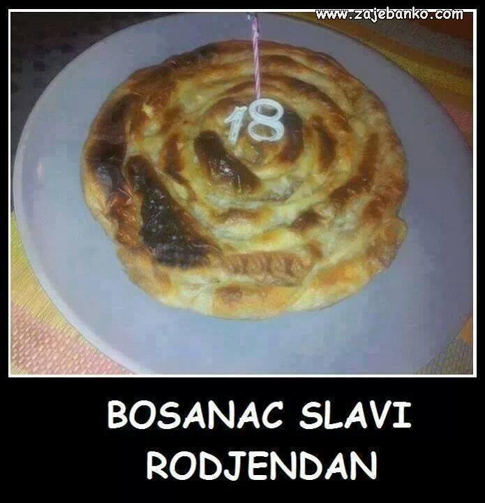 Smiješni Bosanci - Bosanac slavi rođendan