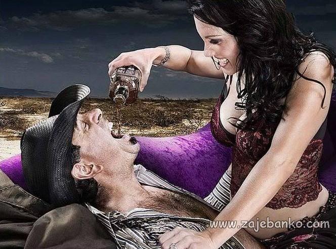 Savršena žena muškarcu ne brani da pije