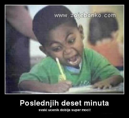 Smiješna djeca - Kad imaš ispit u školi