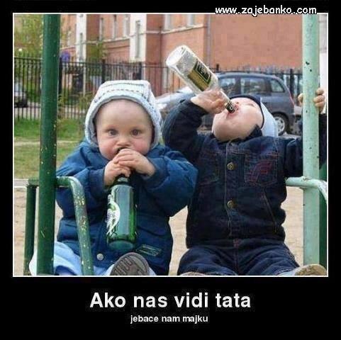 Smiješne slike djece - mali cugeri