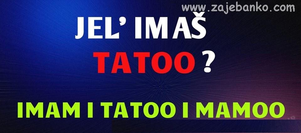 Statusi za Facebook - Tatoo