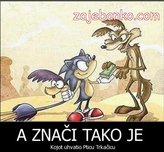 Mirko S. Zlikovski uhvatio Pticu Trkačicu