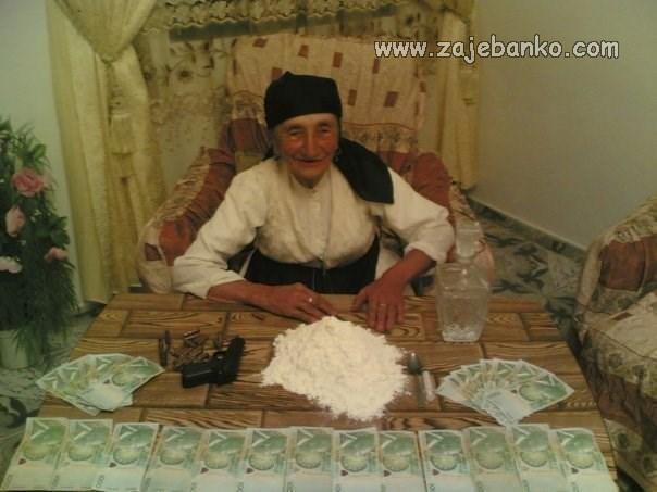 baba skuhala čaj od unukovih trava