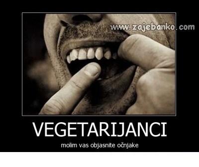 vegetarijanci smiješna slika