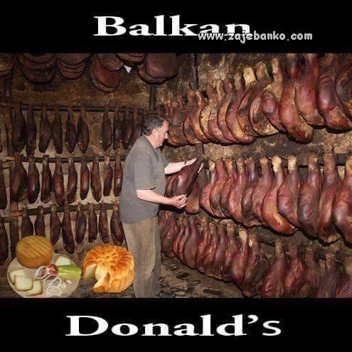 Demotivacijski posteri - Balkan Donald's