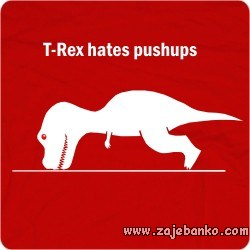 Smiješan t-rex