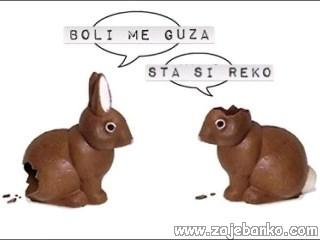 Smiješni Uskršnji zec