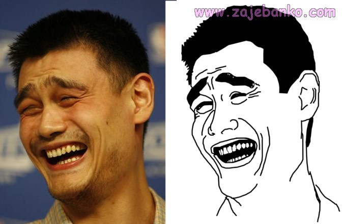 Yao Ming face Bitch Please