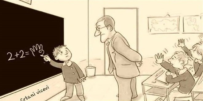 škola, školski humor