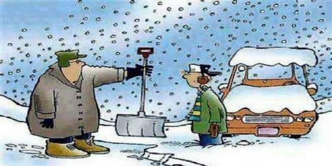 zima - smiješne slike