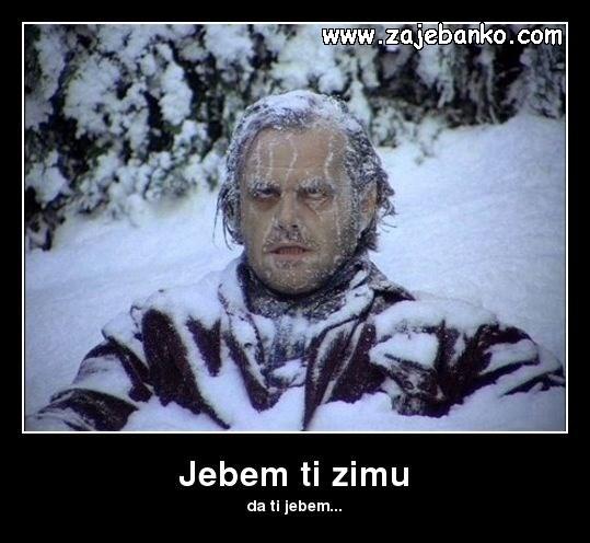zimske zgode i nezgode