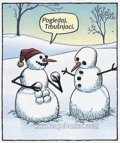 zimske radosti i nezgode