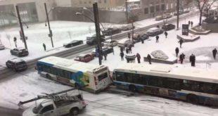 Prometne nezgode na snijegu i ledu