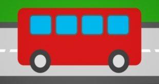 Dječja mozgalica: u kojem smjeru ide autobis na slici?