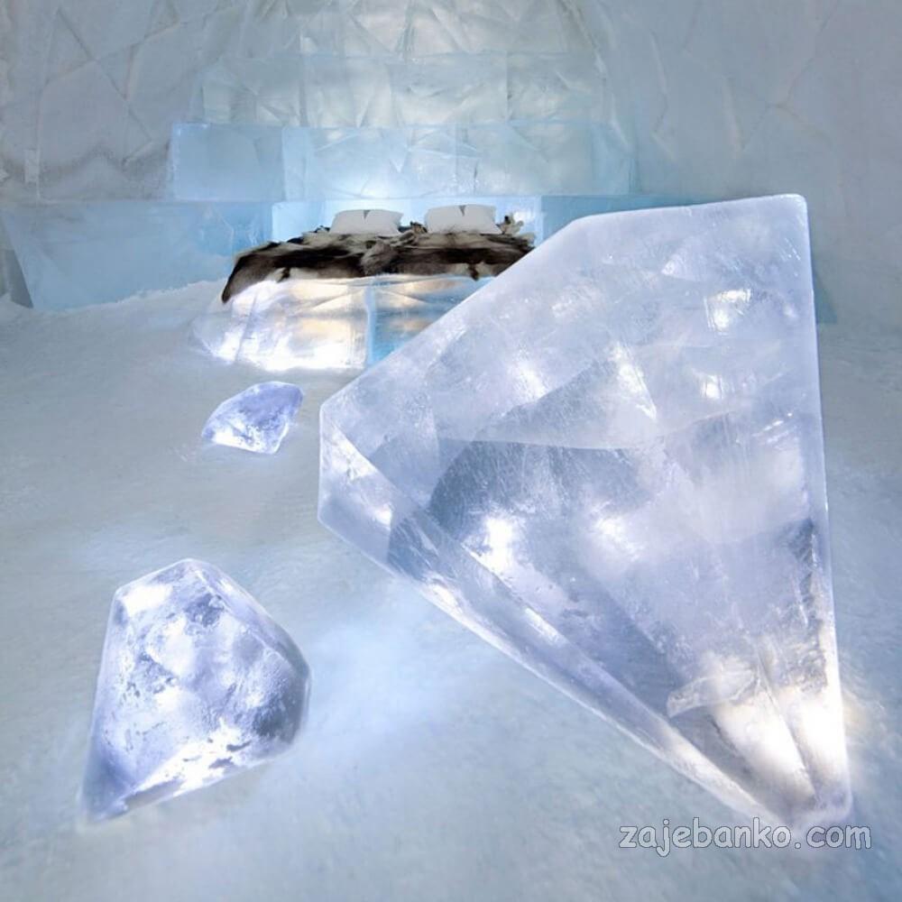 jukkasjarvi ice hotel švedska