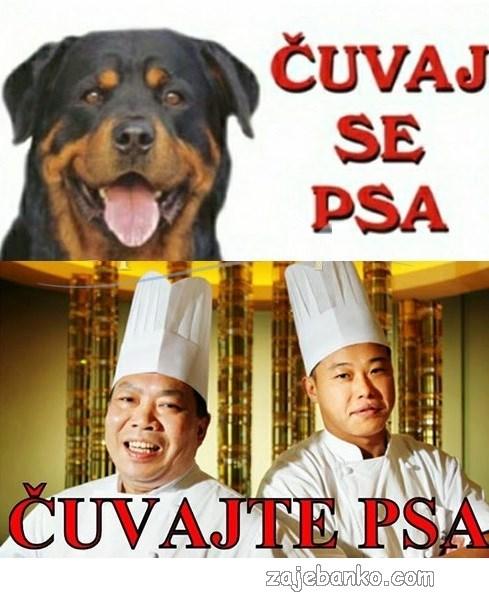 čuvaj se psa & čuvajte psa - kinezi jedu pse